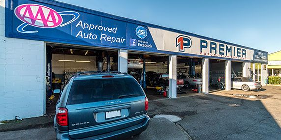 Front Shop | Premier Automotive Services